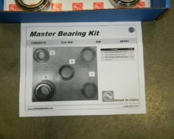 Master Bearing Rebuild Overhaul Kit GM 8.6 IRS Camaro Rear Differential 2010+ 218MM AAM