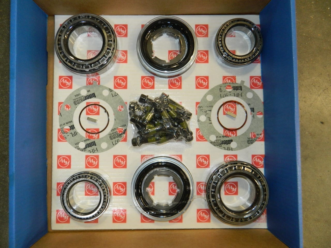 2003+ Dodge Ram 3500 Dual Dually Rear Wheel Hub Bearing & Seal Kit 11.5