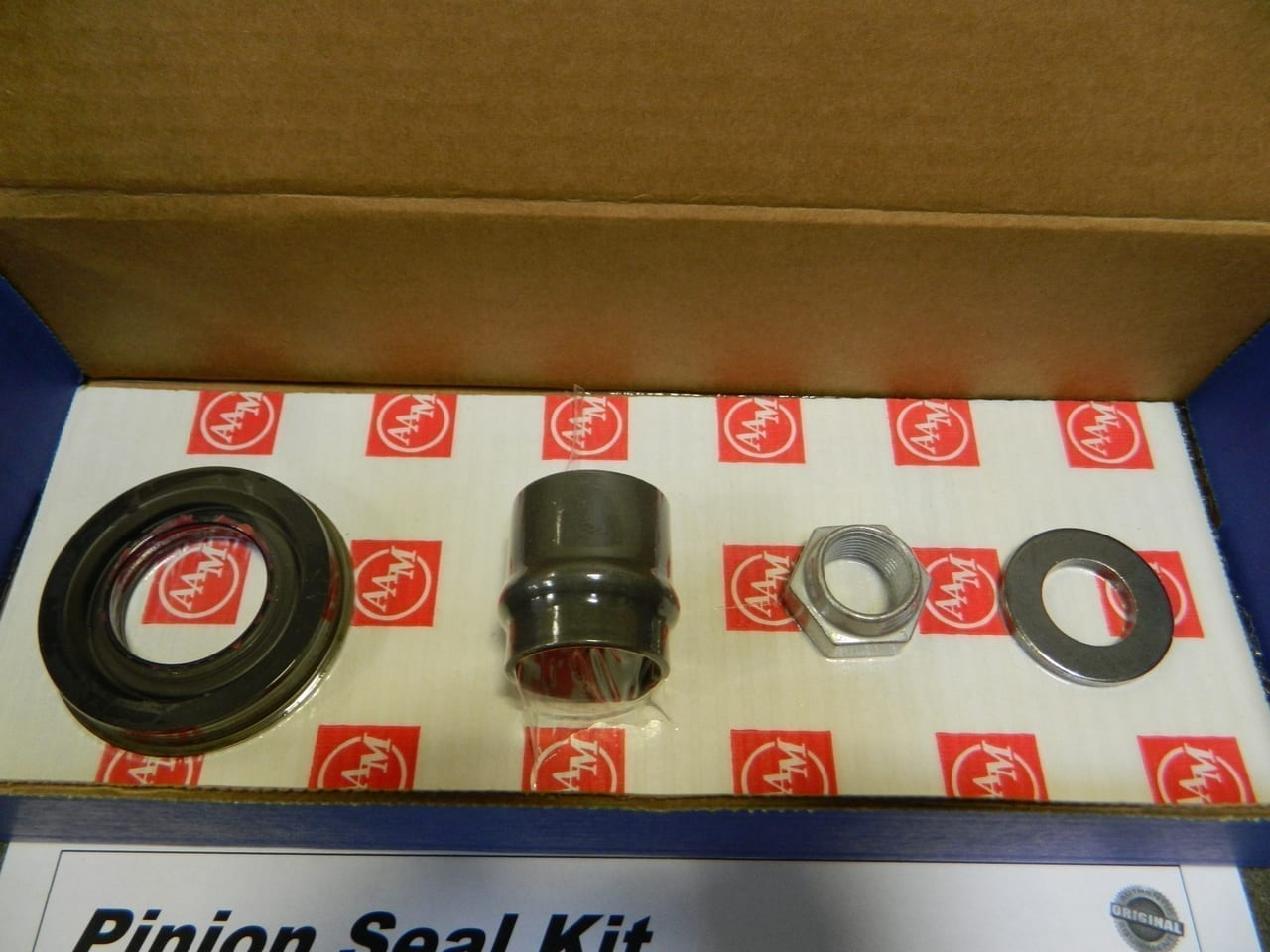 "7.25"" Front Differential Pinion Seal Kit GM 2002-2009 Oil Pan Mounted Envoy Trail Blazer Rainer Bravada OEM"