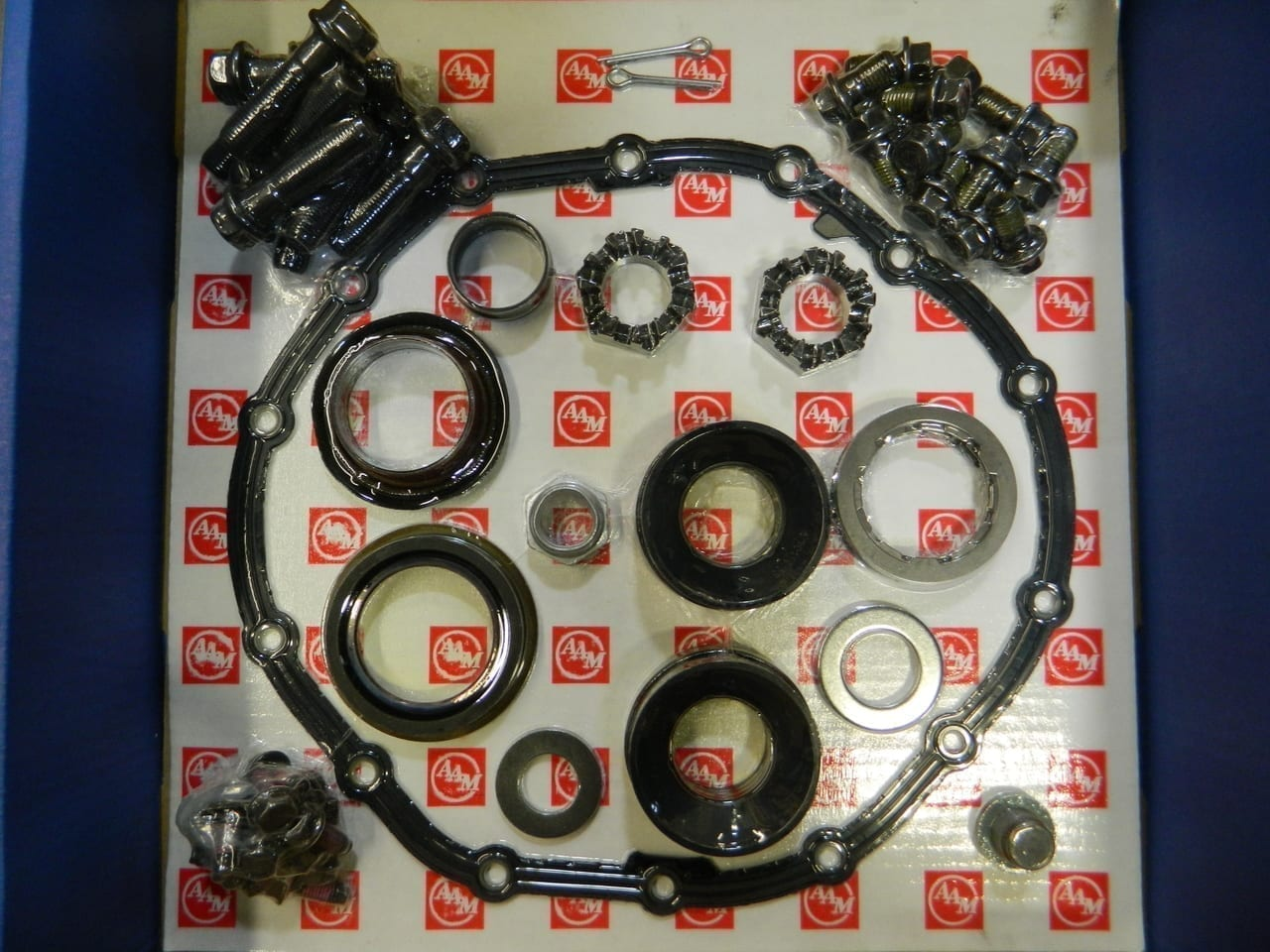 2003-2012 Dodge Ram 2500/3500 4X4 Front Axle Master Seal Kit 9.25 AAM