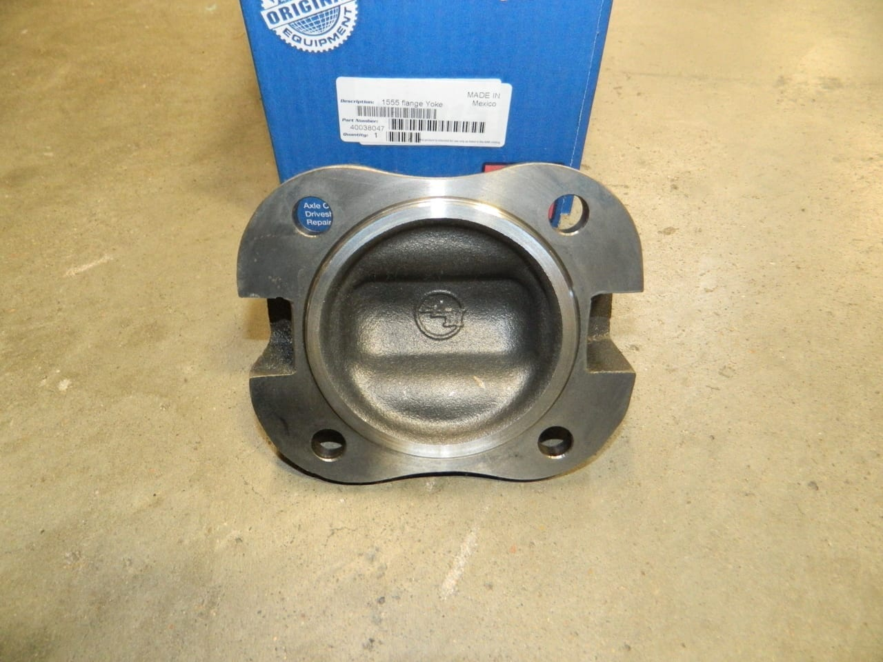 Dodge Ram 2003+ 1555 Drive Shaft Flange Yoke 4 Bolt 10.5 11.5 Rear Driveline U-Joint Universal