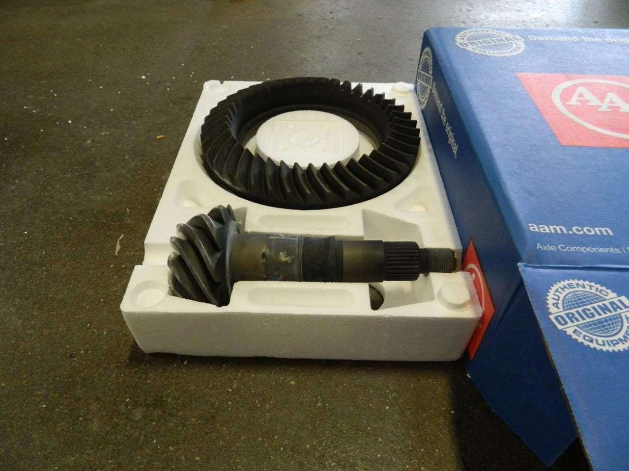2014+ Dodge Ram 2500 3500 9.25-4:10 Ring Gear Pinion Gear Set AAM 4X4 Front