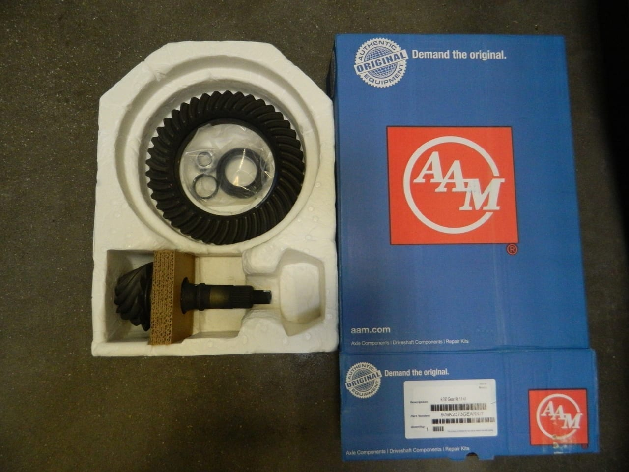 2014+ GM Chevy 9.76 12 Bolt 3:73 Ring & Pinion Gear Set 373 6.2