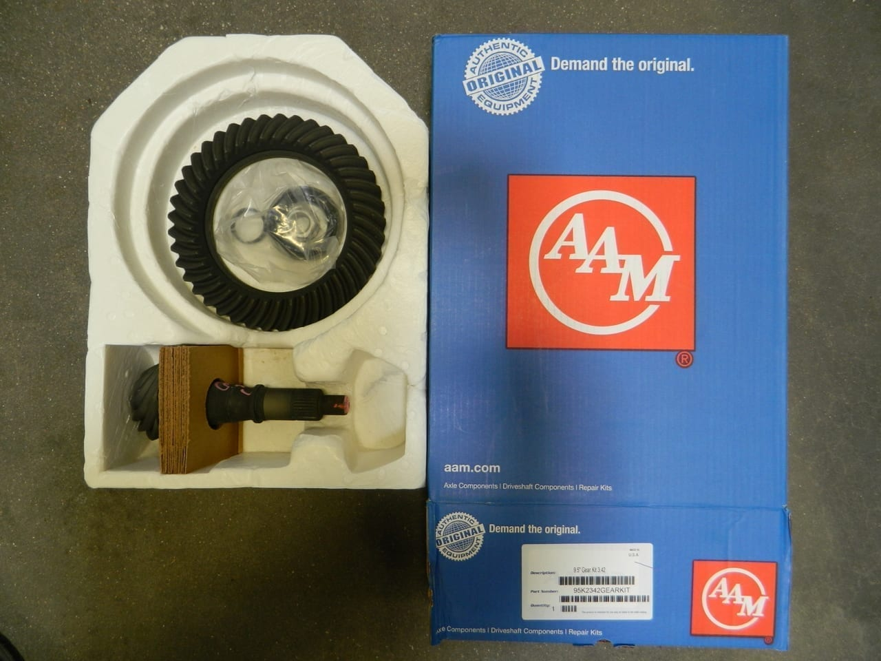 2014+ GM Chevy 9.5 12 Bolt 3:42 Ring & Pinion Gear Set 342 5.3