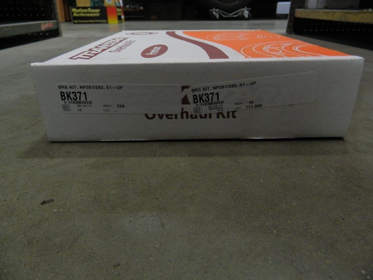 261 & 263 GM transfer case bearing and seal kit