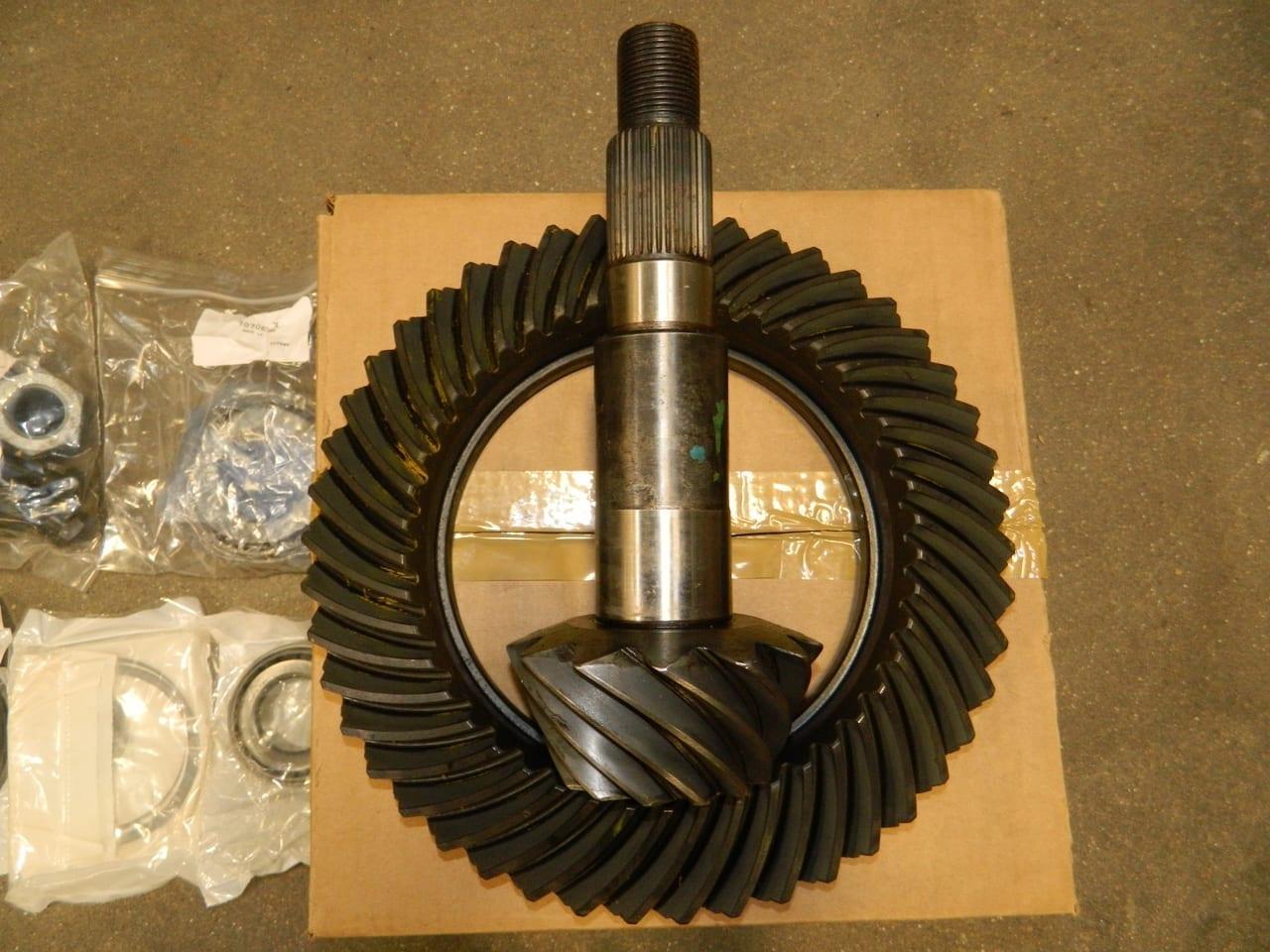 Dana 80 Dodge 3:54 Ring Gear & Pinion Kit with Shims Pinion Bearings 2001 1/2-2003