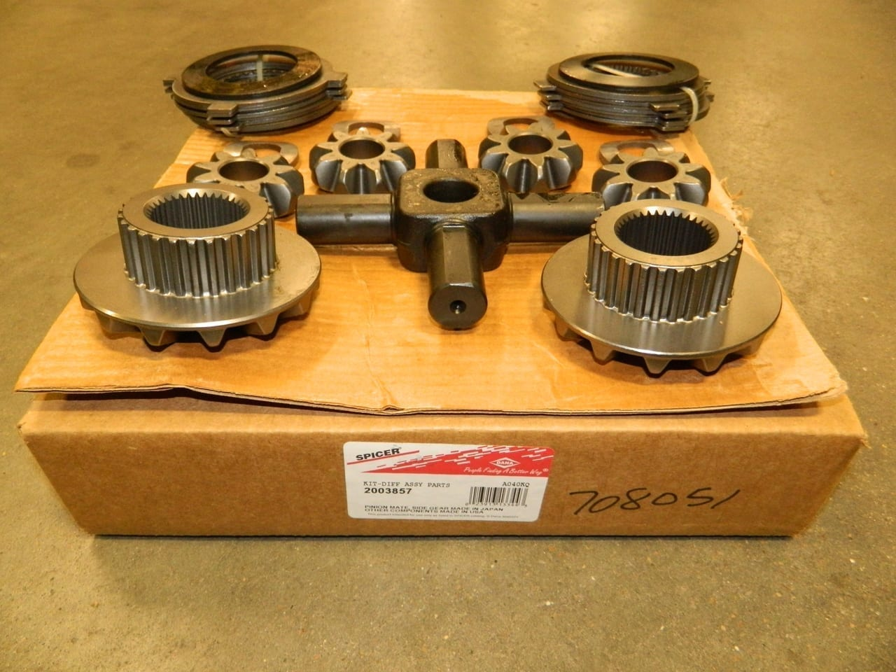 Dana 80 Trac Lok Differential 35 Spline Internal Kit Spider Axle Gear Clutch Pack Ford Dodge 1999+