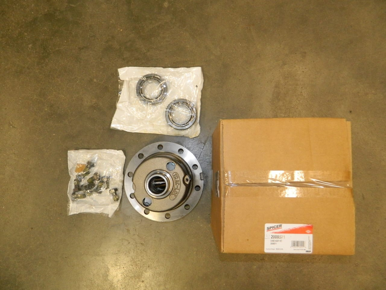 Jeep Dana 44 LOADED TRAC LOK  Posi Differential Kit Complete JK Wrangler