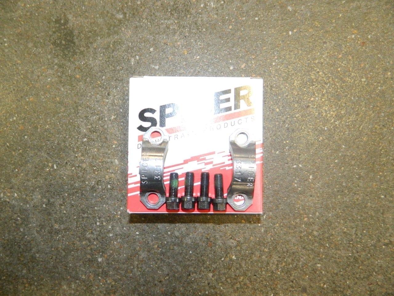 1310 Universal Joint Yoke Bolt & Strap Kit Dana/Spicer Jeep Ford Dodge