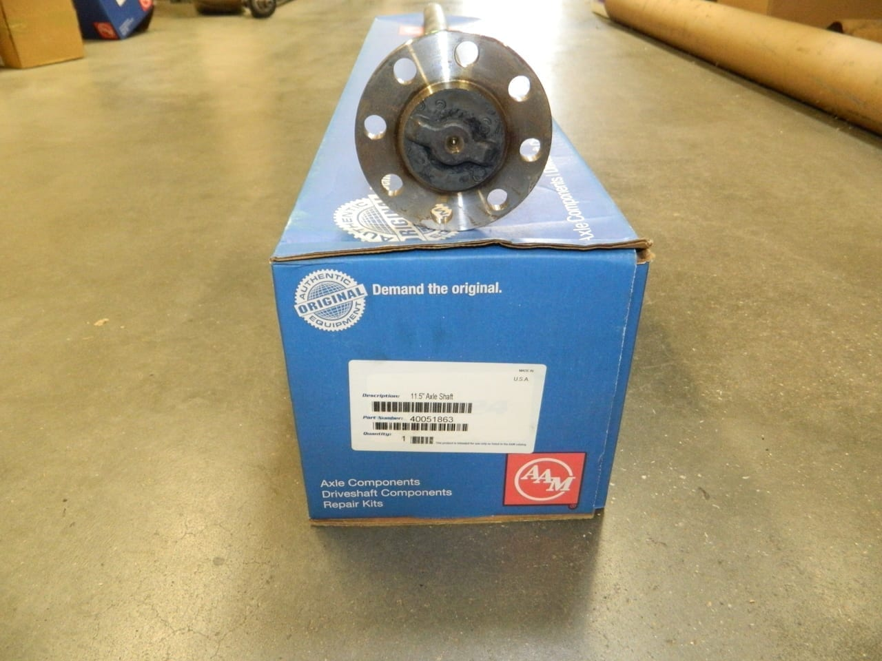 "2010-2014 Chevy GM 11.5 Rear Axle Shaft 40.2756"" 1023MM 30 Spline Dually Dual Rear Wheel"