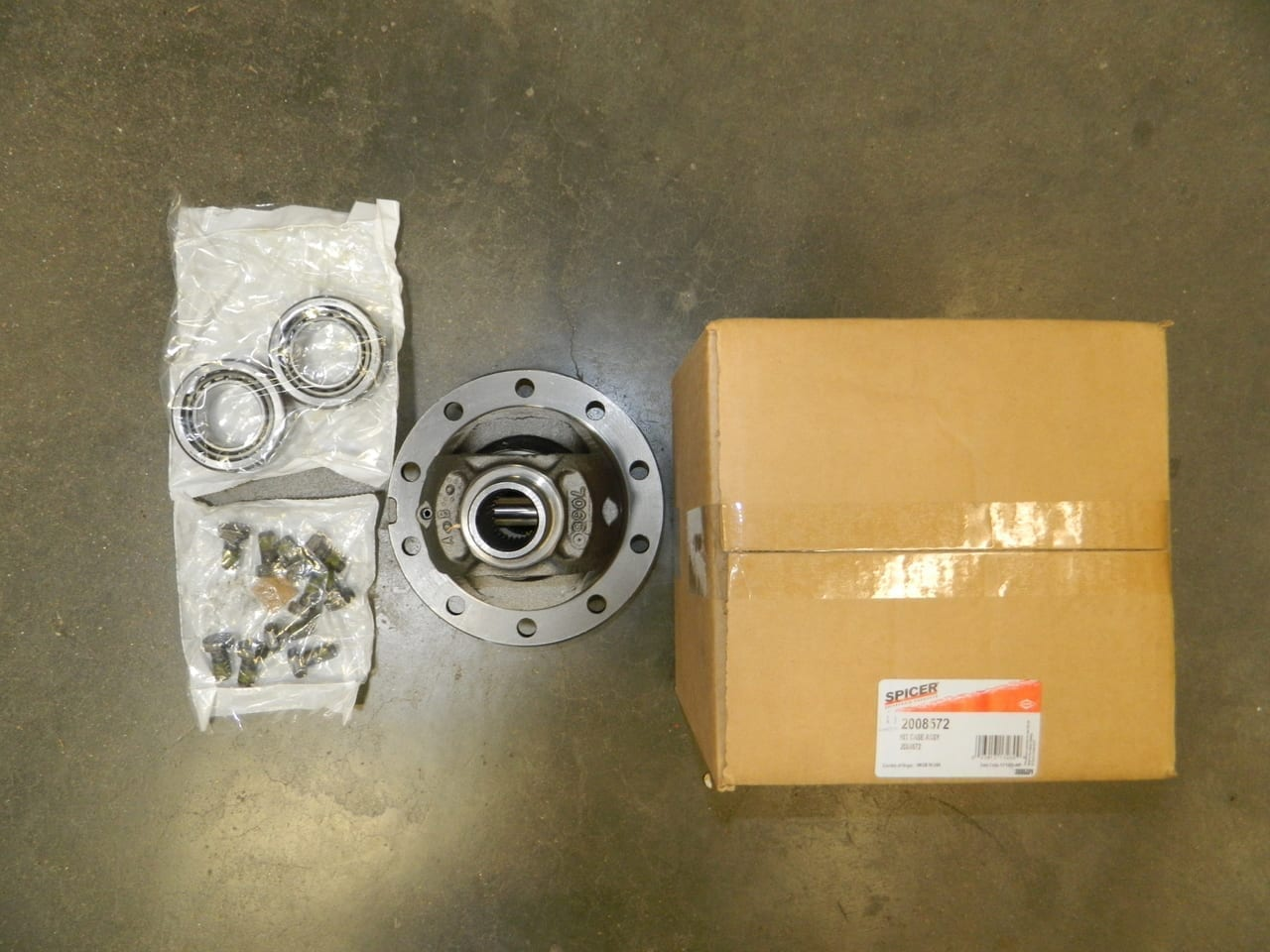Loaded Open Differential Carrier Kit Rear New Jeep JK 2007-2016 Dana 44 OEM