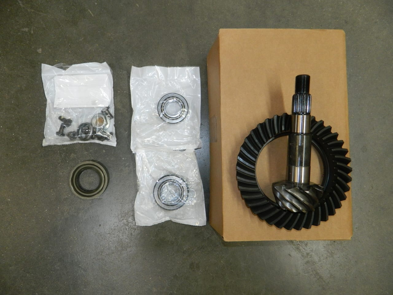 Dana 35 Jeep Wrangler 410 411 4:10 4:11 Gear Set Kit Cherokee XJ YJ TJ Ring & Pinion Gearset