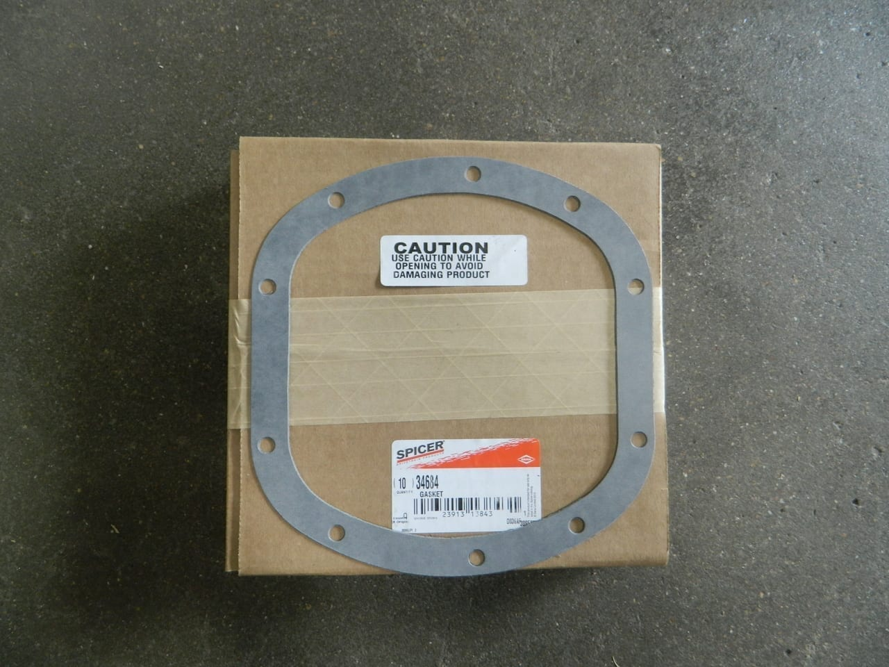 Dana 30 4X4 Front Axle Differential Cover Gasket Jeep International