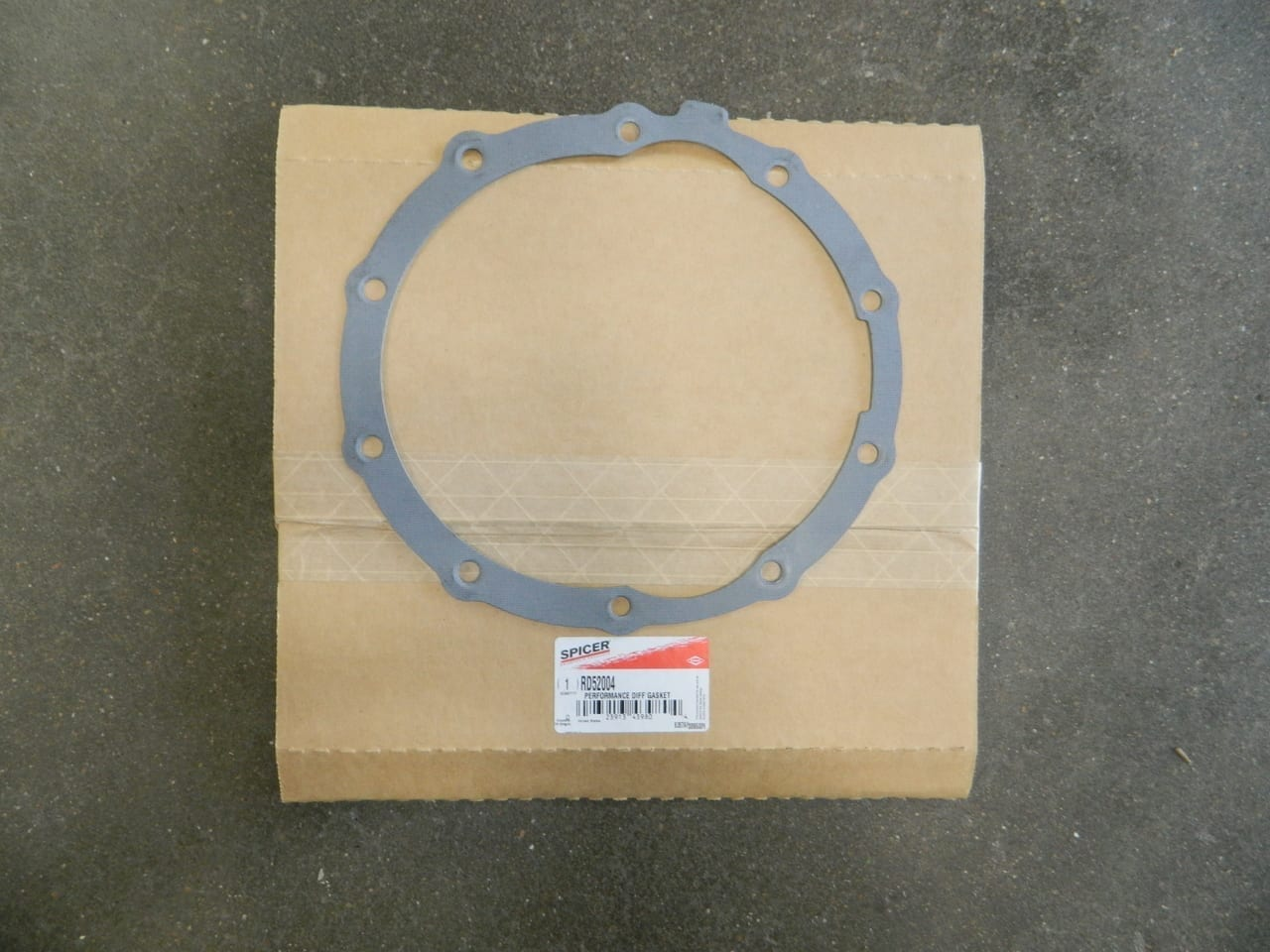 "Ford 9"" 3rd Member Mounting Gasket Drop Out Reusable Dana Performance"