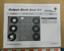 GM 9.5 Rear Axle Bearing Kit w/VSES 2007+ Sierra Silverado Chevy Suburban Tahoe Yukon