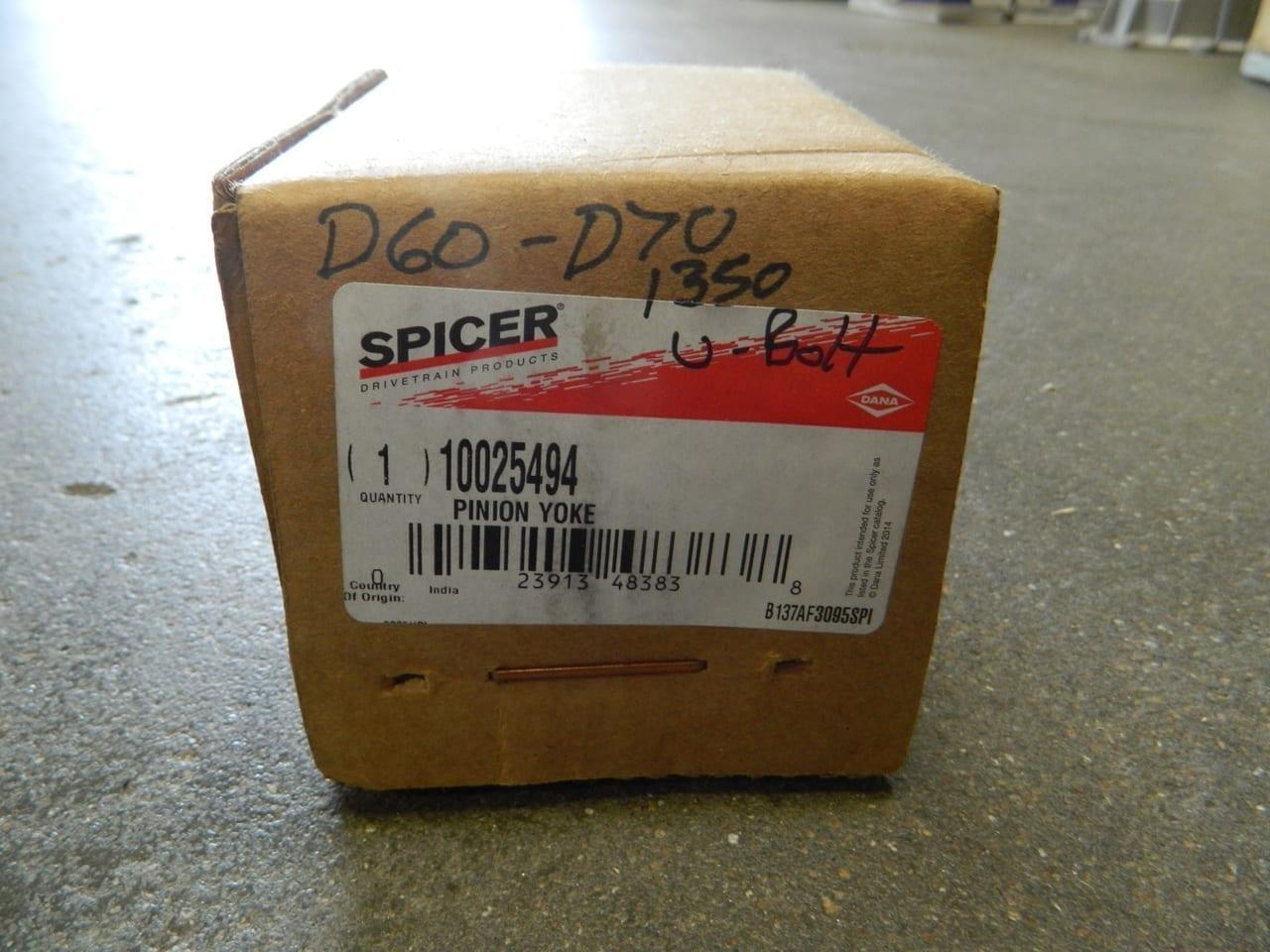 Dana 60/70 1350 Forged U-Bolt Style Pinion Yoke Genuine Dana/Spicer