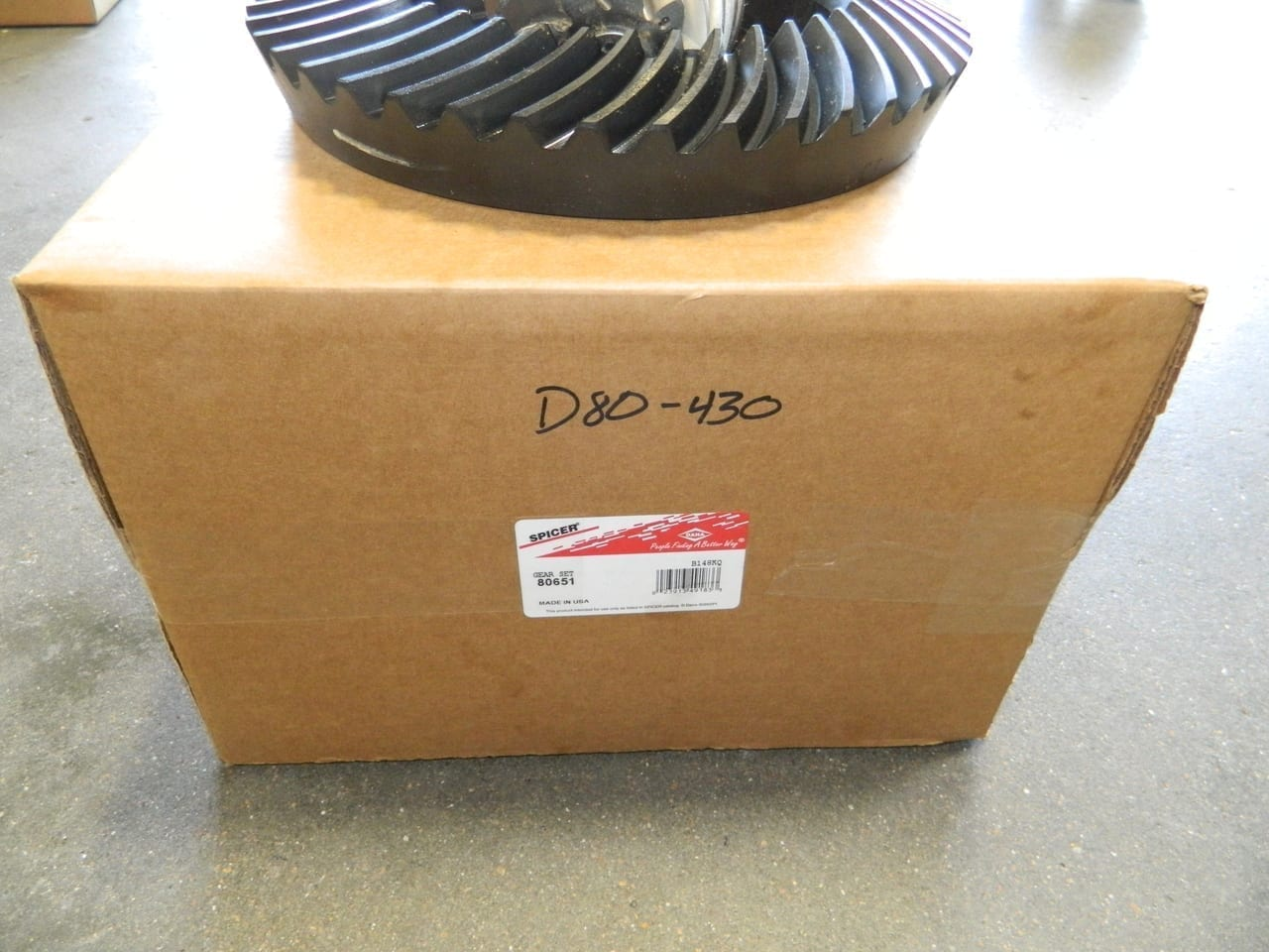 Genuine Dana 80 4:30 Ring Gear & Pinion Set Chevy Ford Dodge 430 Made in U.S.A.
