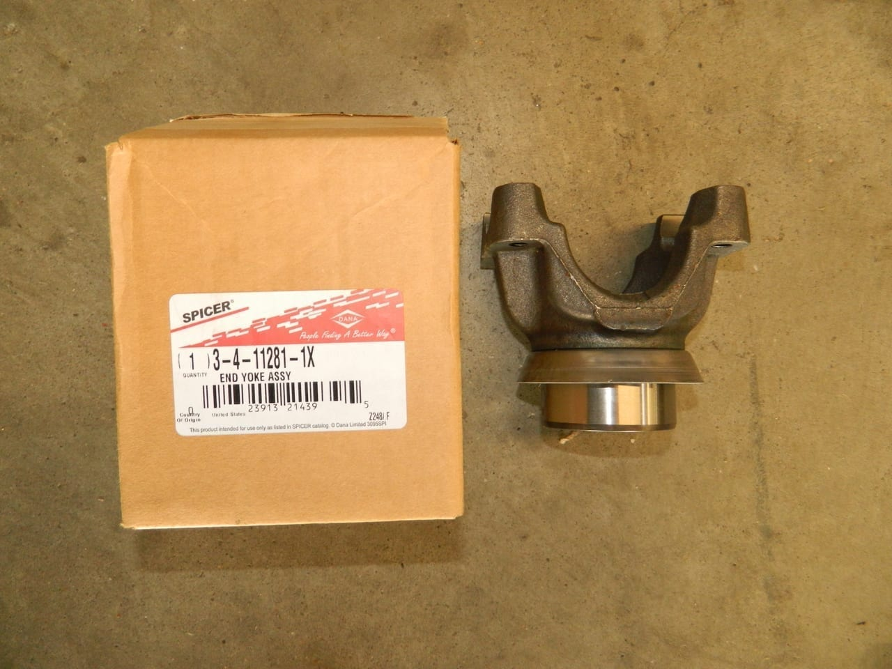 Dana 80 Ford Rear Pinion Yoke 1480 Series