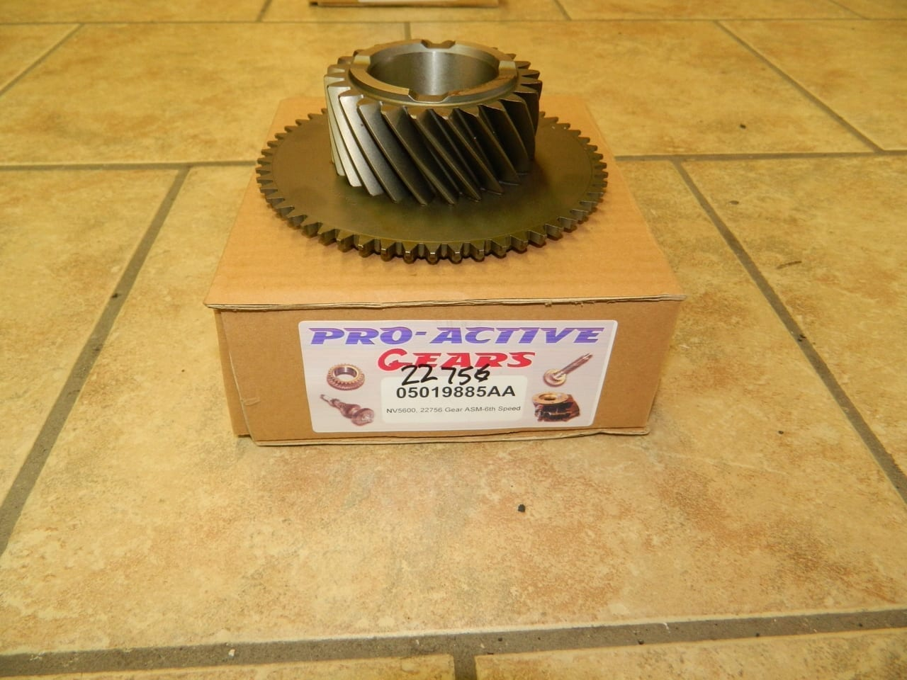 NV5600 6th Gear Mainshaft Dodge Diesel 6 Speed Transmission