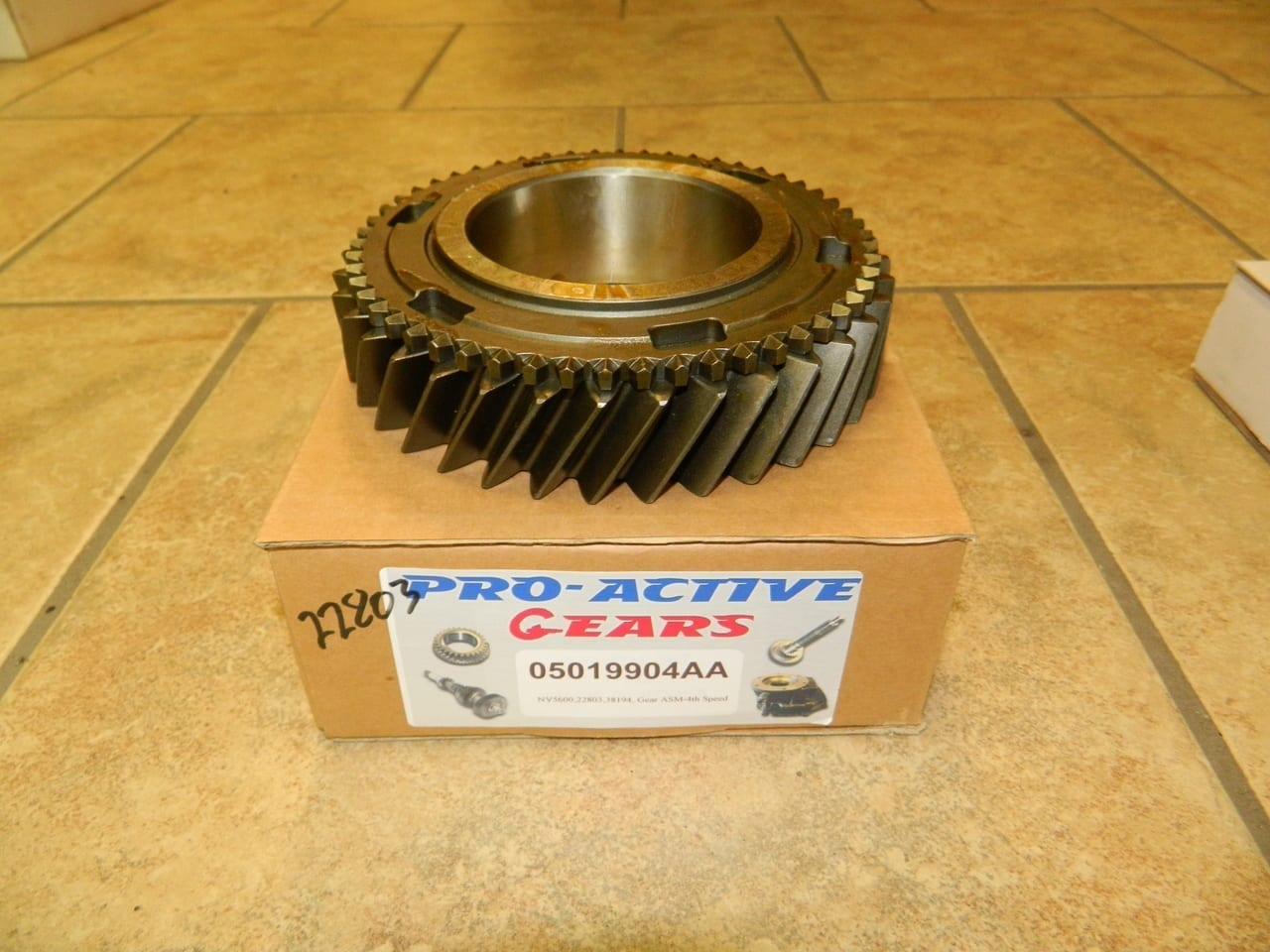 NV5600 Countershaft 4th Gear Dodge Diesel 6 Speed Transmission