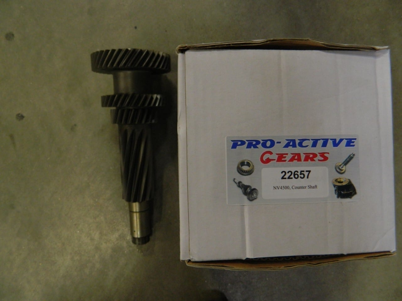 NV4500 cluster assembly 1997 and newer GM and Dodge w/short idler.