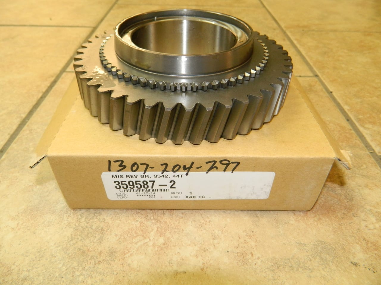 ZF 5 Speed Transmission Ford S5-42 Mainshaft Reverse Gear