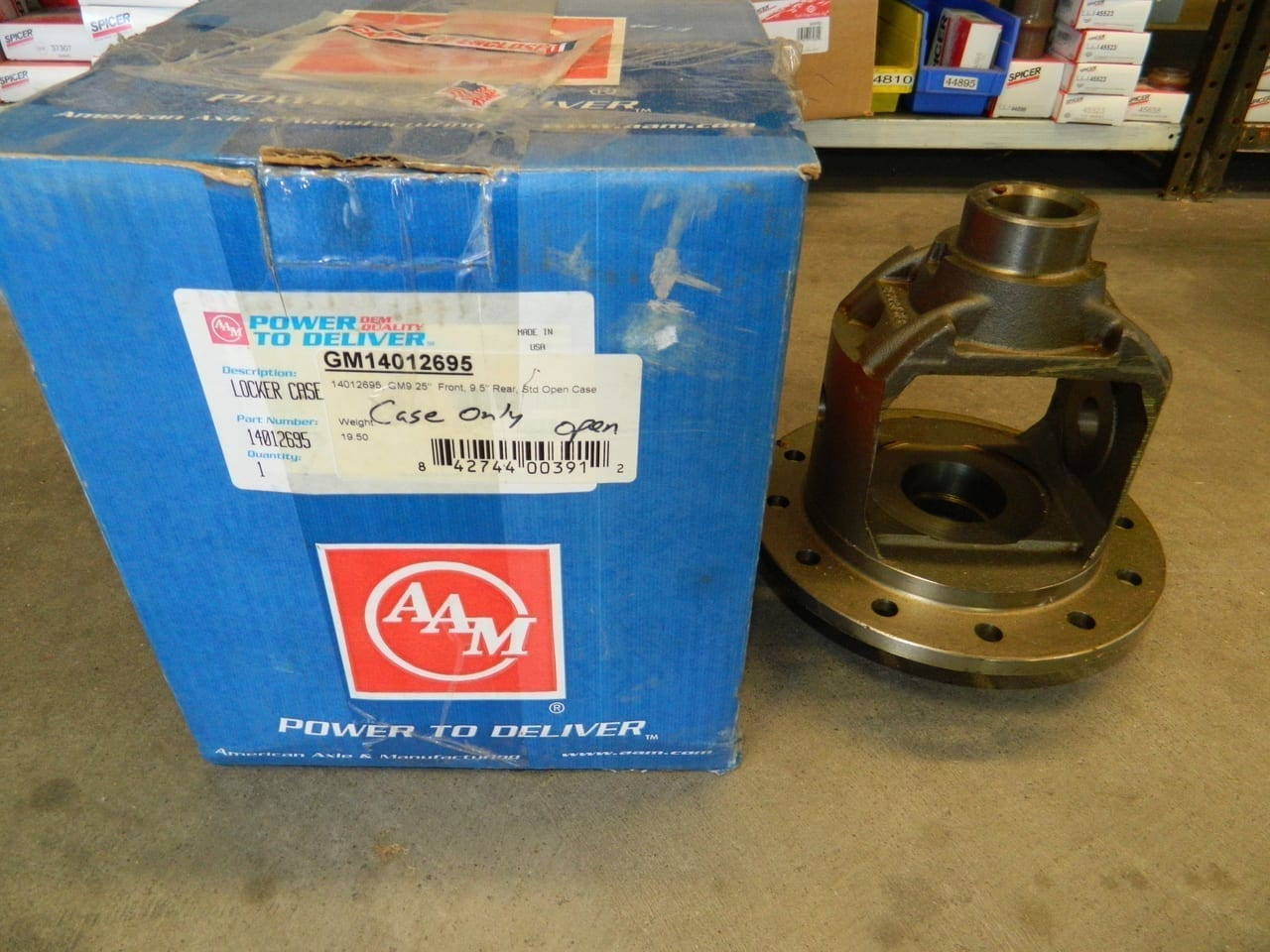 GM9.25 IFS & 9.5 Rear Differential Bare Carrier Also Dodge 9.25 Front 2003-2006 AAM Axle