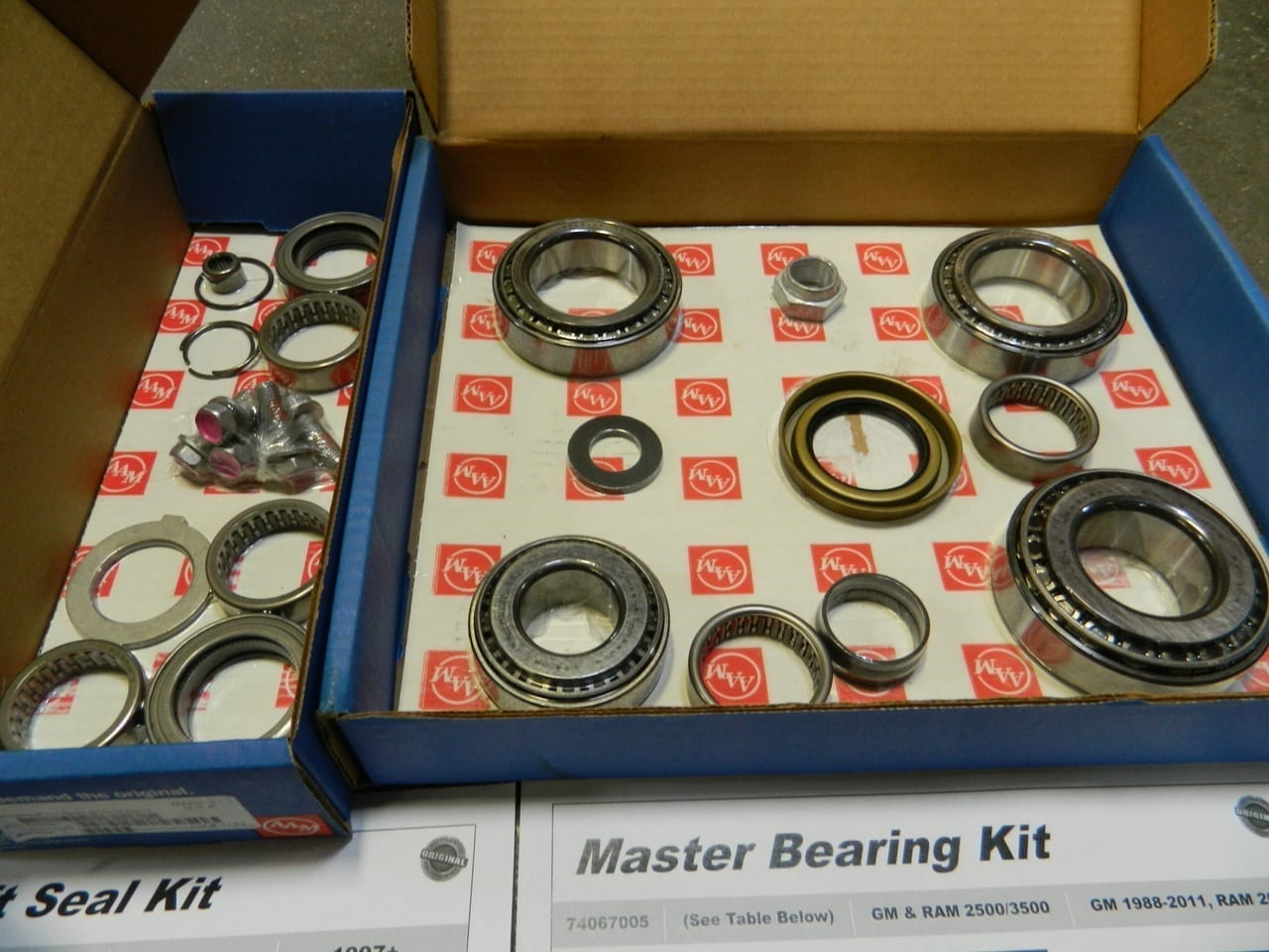 GM9.25IFS Master Bearing & Seal Kit 4X4 Front Differential 1998+ Chevy 2500 3500