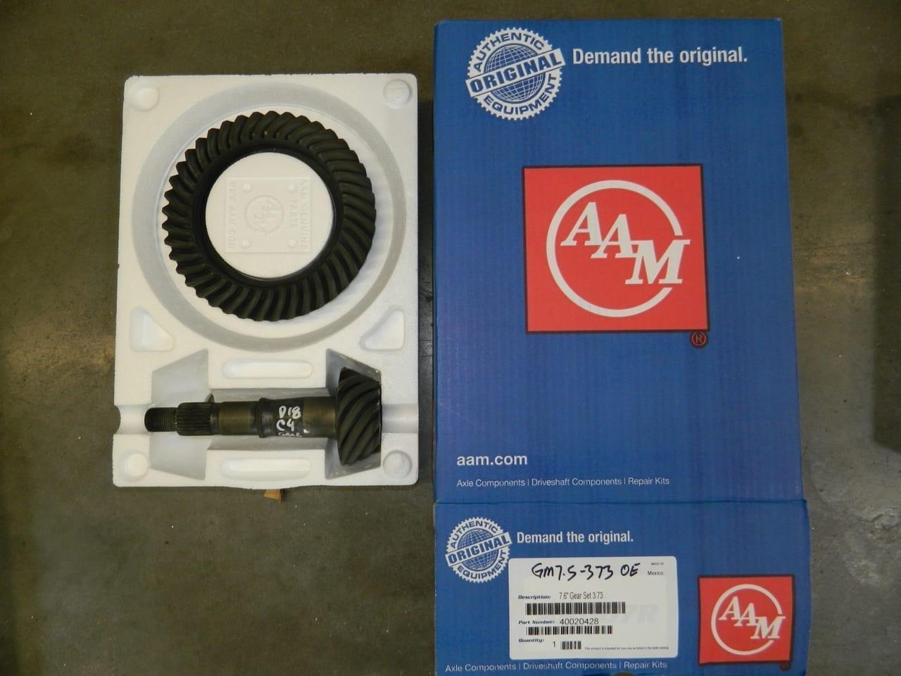 GM7.5-373 OEM AAM Ring & Pinion 10 Bolt Gear Set 7.5/7.6 Chevy S10 Camaro