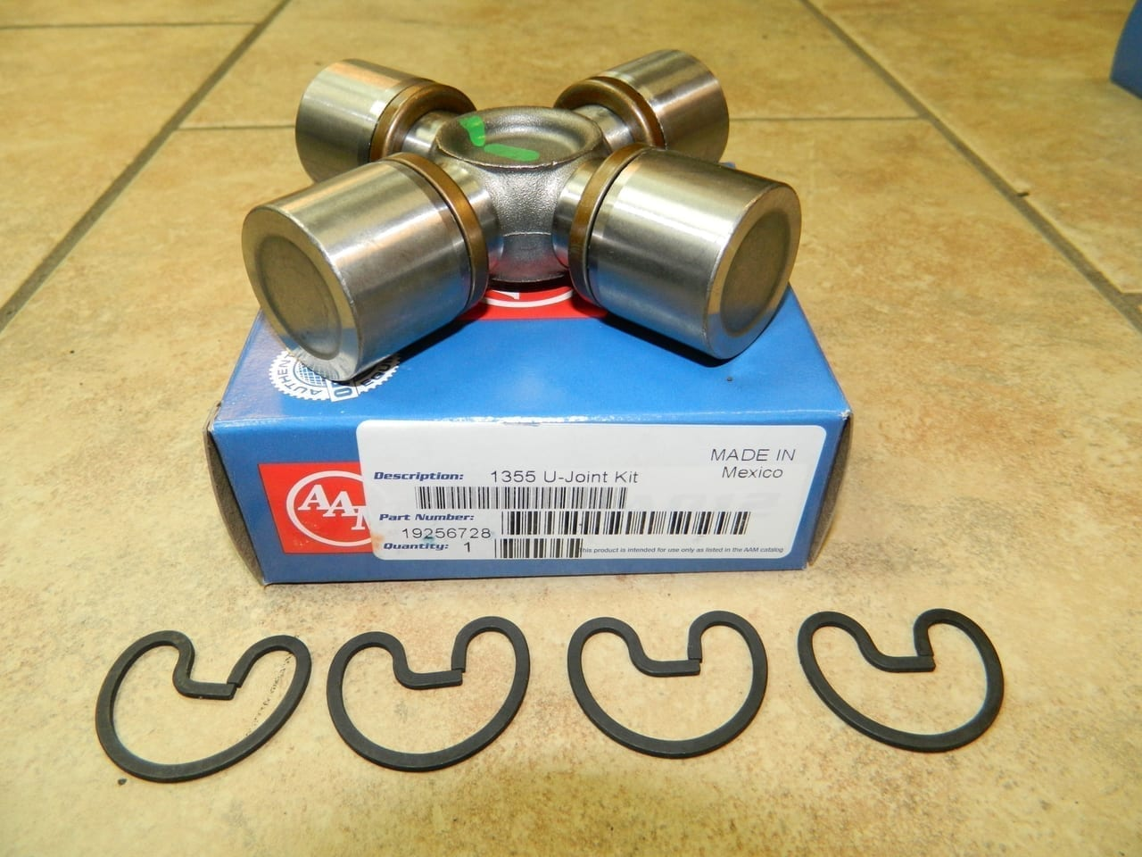 AAM 1355 Universal Joint U-Joint GM Chevy Dodge Ram OEM