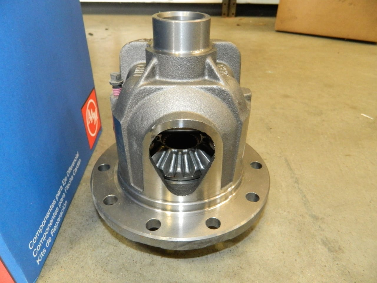"7 5/8"" GM 7.6 28 Spline Loaded Open Differential Carrier 3:23 3:42 3:73 4:10 4:56 S10 Camaro Chevrolet AAM"
