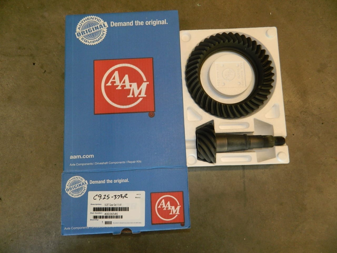 C9.25-373R Dodge AAM Front Ring & Pinion 2007+ Straight Axle 4X4