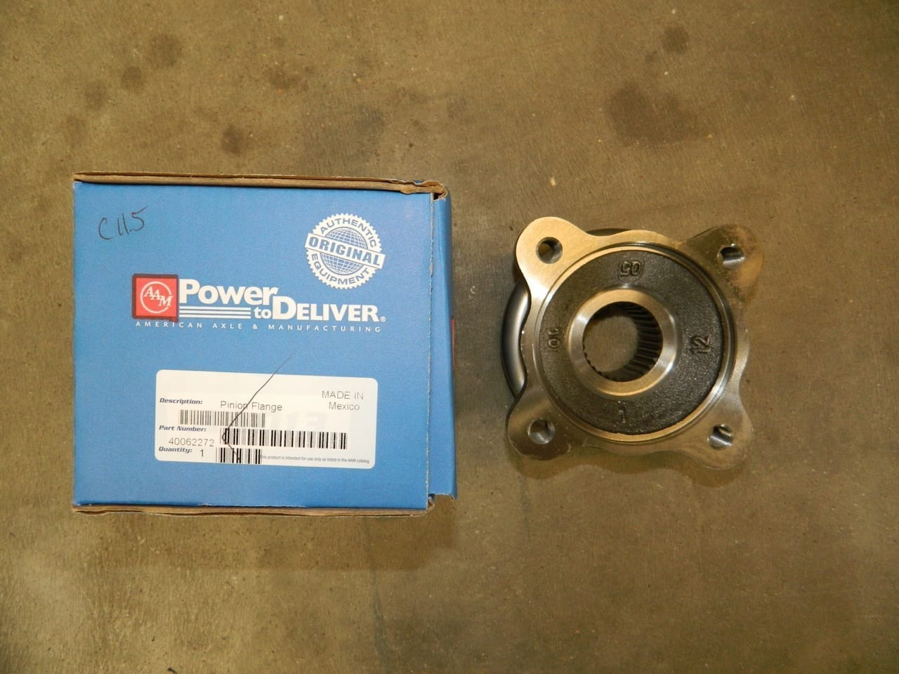 Dodge 10.5 11.5 AAM Rear Pinion Flange Yoke 2003+ 4 Bolt