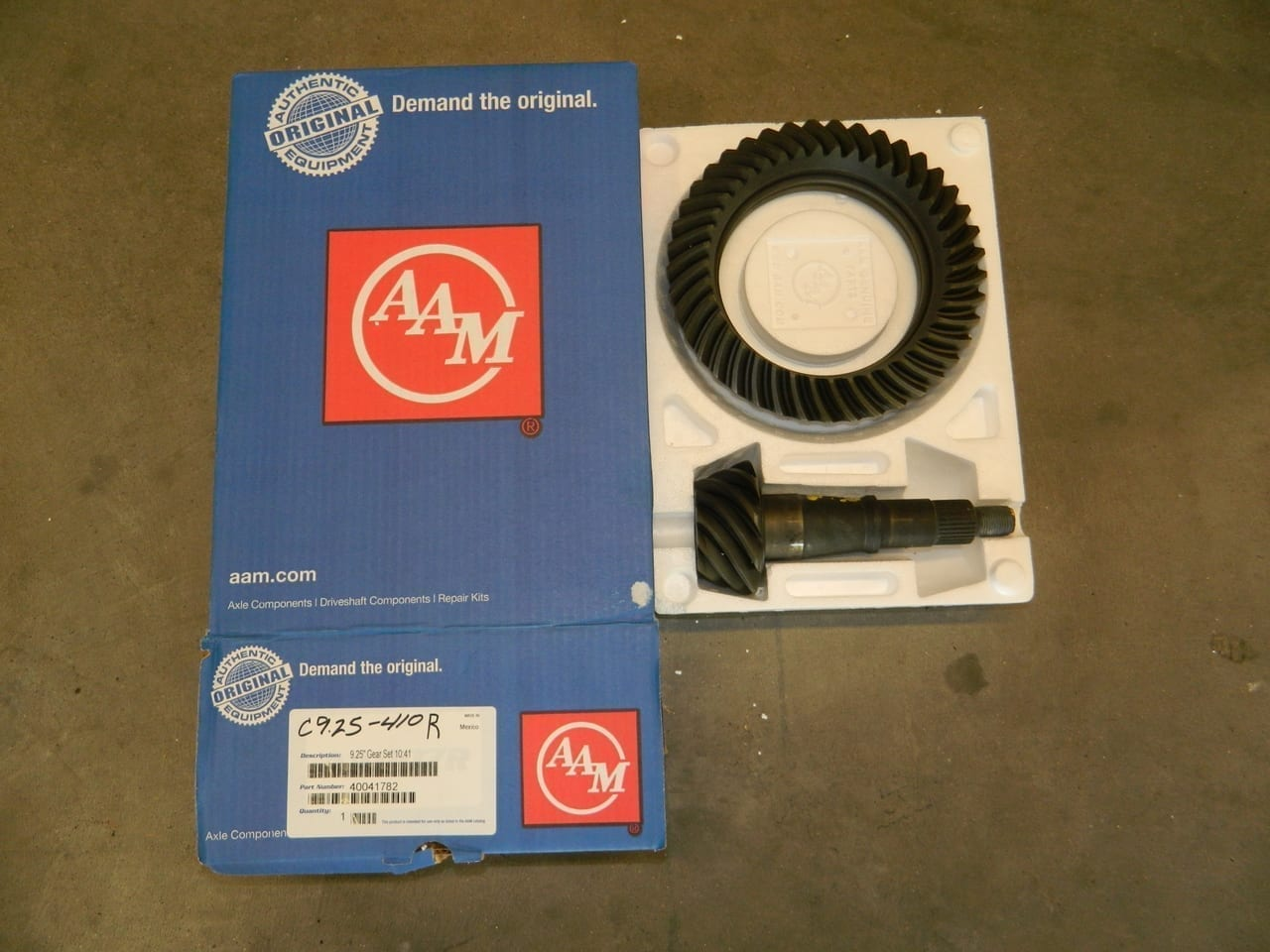 C9.25-410R Dodge AAM Front Ring & Pinion 2007+ Straight Axle 4X4