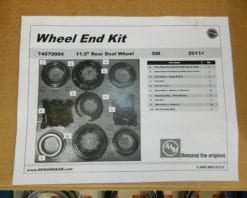2011+ GM Hub Bearing Kit AAM Axle Dually Wheel End Kit Dual