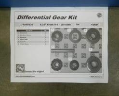 GM 8.25 IFS Spider Gear Kit Internal 4X4 Front 1988-2011 Axle Chevy 1/2 ton