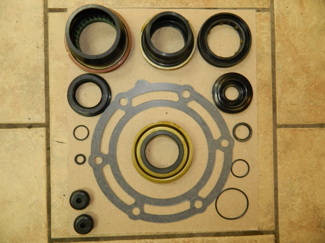 Magna Transfer Case Gasket & Seal Kit GM Chevrolet & XHD 1222 1225 1226