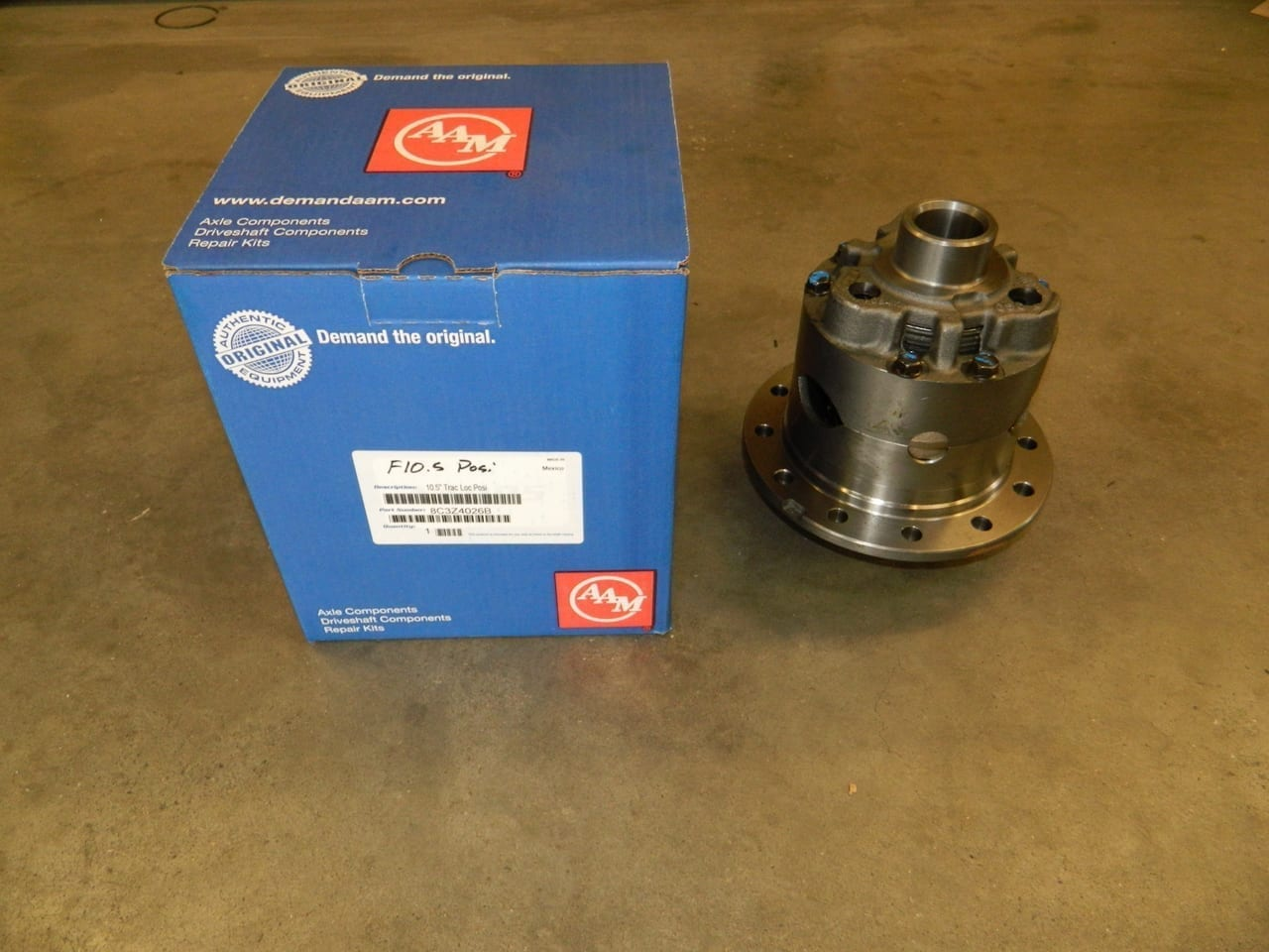 Ford 10.5 Posi Trac Differential 3 Pinion AAM 1999+ F250 F350