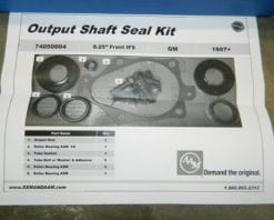 AAM Front Differential Bearing & Seal Kit 1997 and Newer GM 8.25IFS 1/2 Ton Trucks 4X4 Front Chevrolet