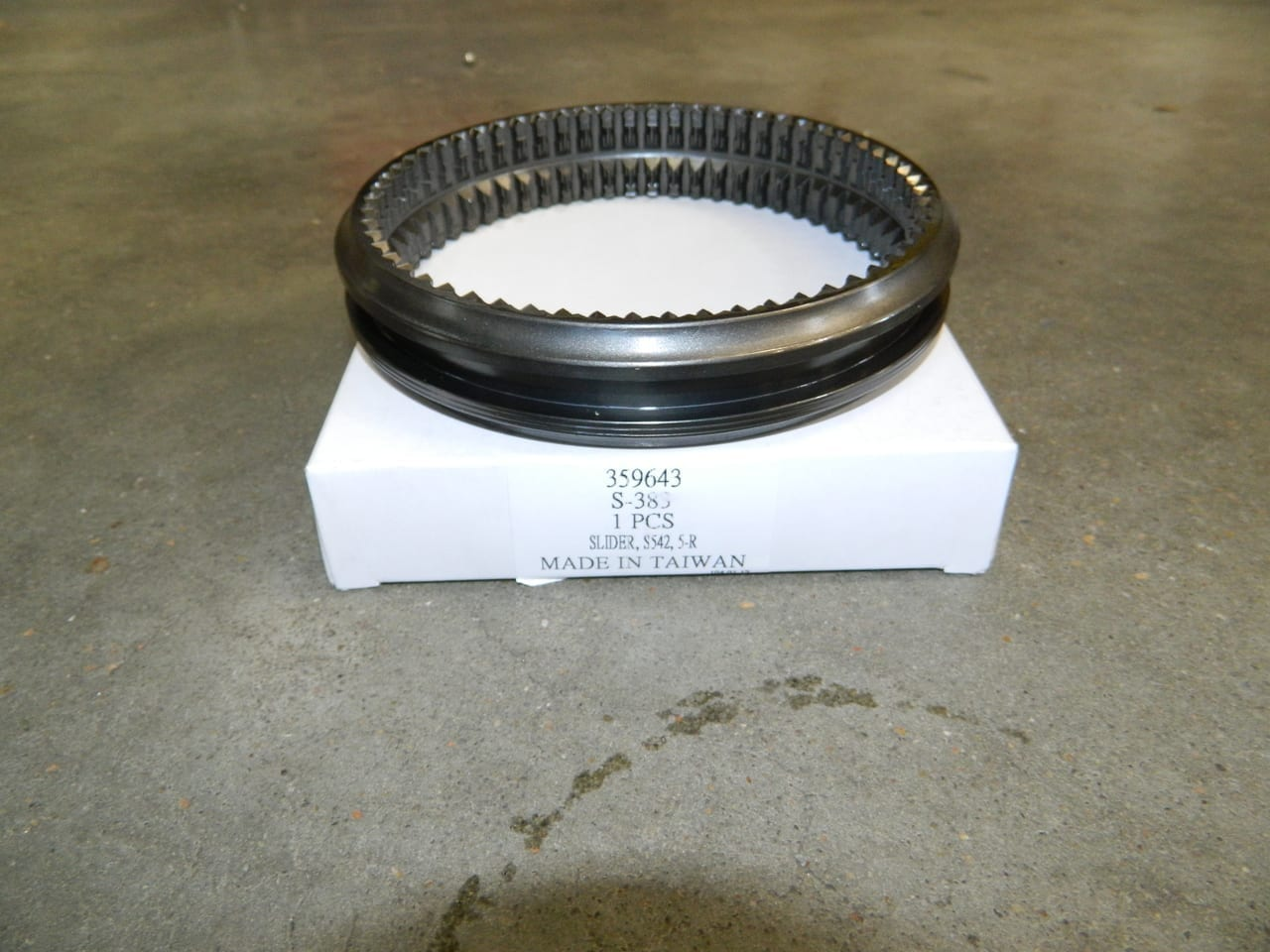 ZF 5 Speed Transmission Ford S5-42 5th & Reverse Slider 5-R 3-4 3rd & 4th