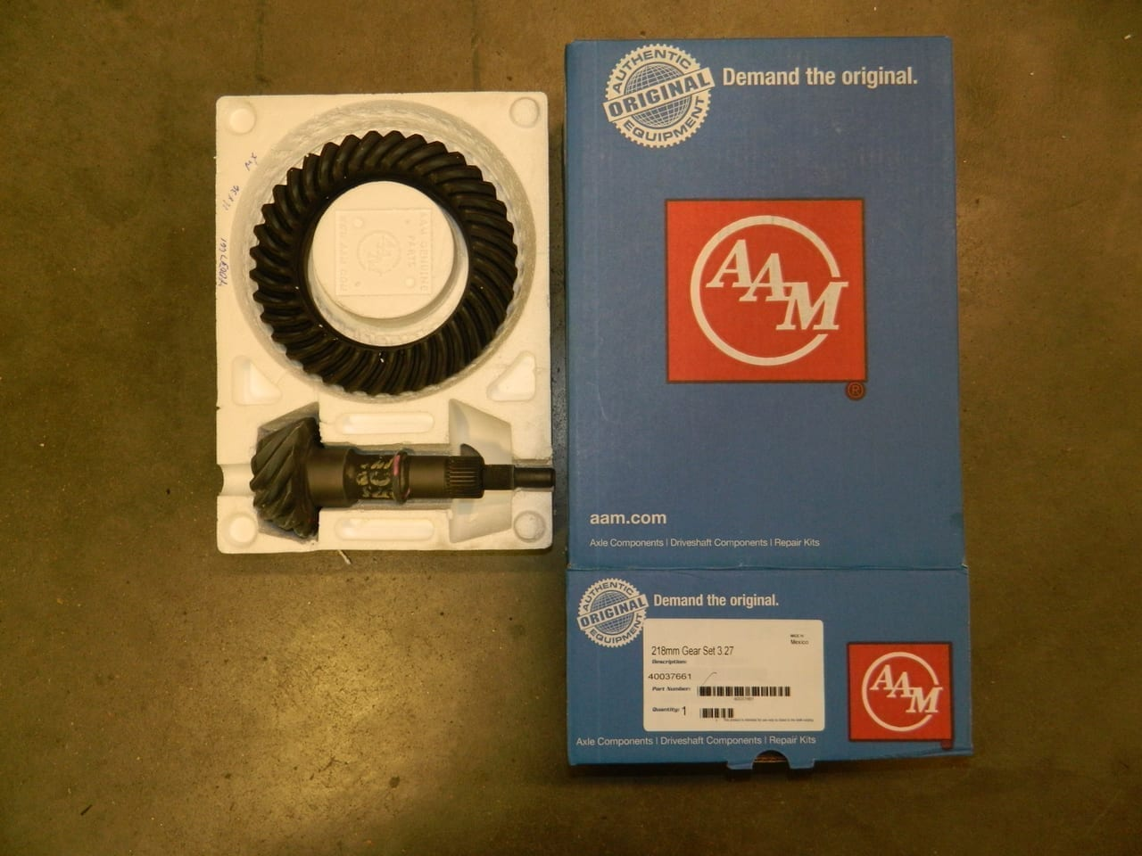2010+ Camaro 8.6 IRS Rear Differential Ring & Pinion Gear Set 3:27 218MM Zata Chevy AAM