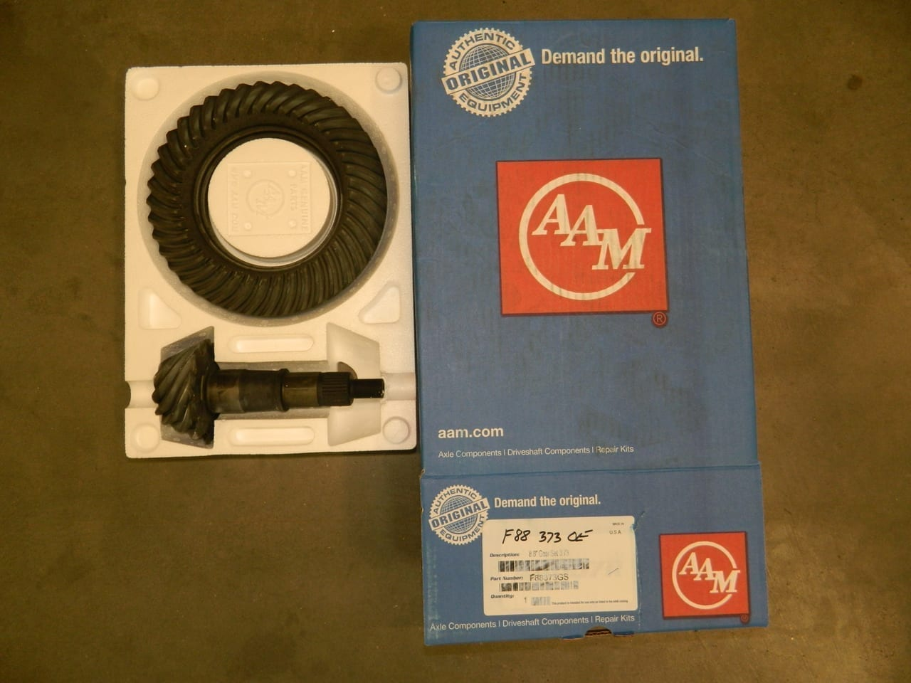 Genuine AAM Ford 8.8 3:73 Gear Set Ring & Pinion Mustang F150 Crown Victoria Explorer