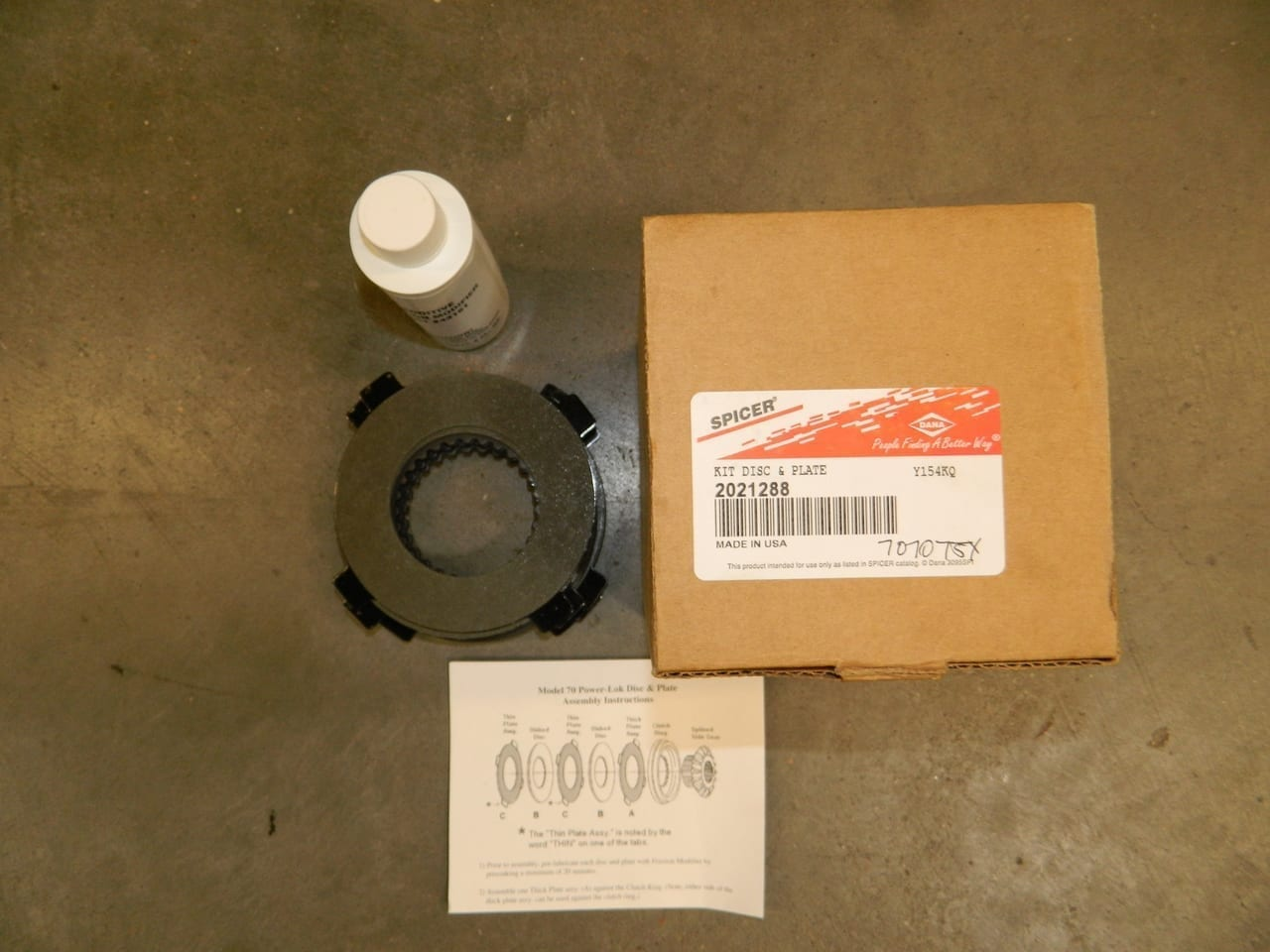 Dana 60 70 Power Lok Lock Clutch Pack Posi Differential Limited Slip 2021288