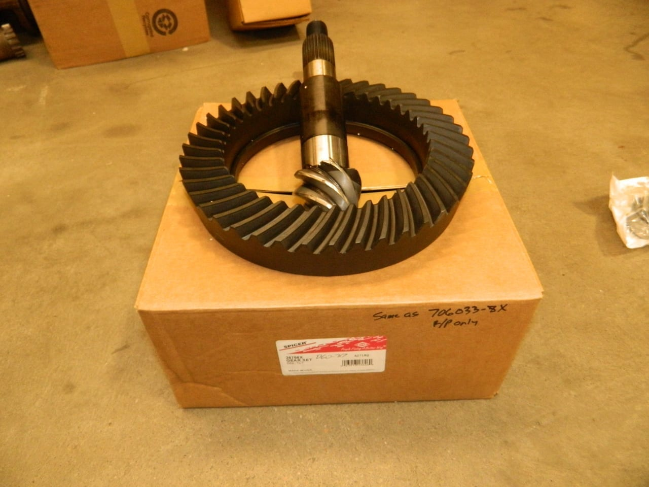 Dana 60 7:17 Ring Gear & Pinion Set GM Chevy Dodge Ford