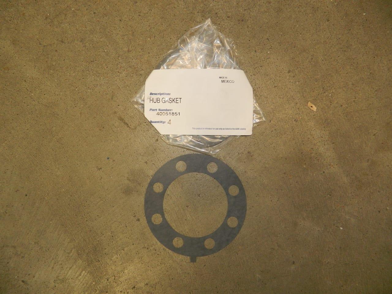 GM 11.5 Rear Axle Flange Gasket Hub 2011+  AAM Chevy