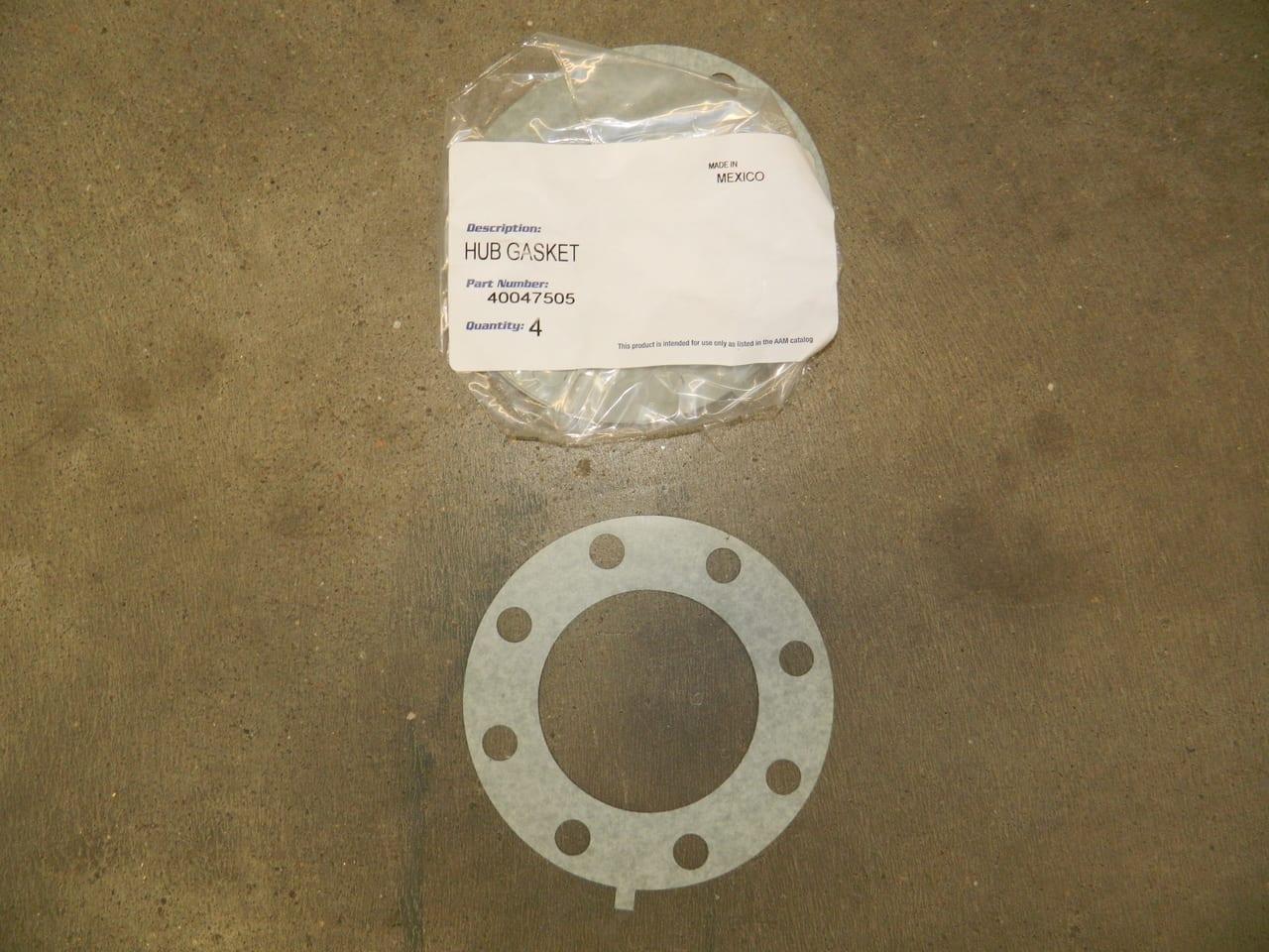 aam  rear axle flange gasket hub  dodge ram cm gearworks