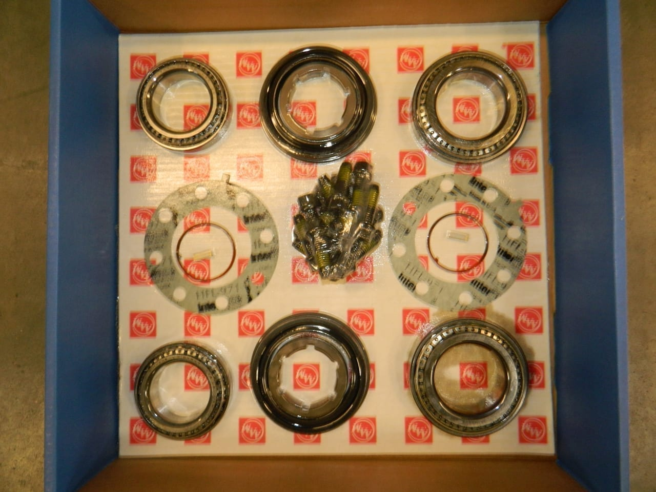 C10.5/11.5 Rear Axle Wheel Hub Bearing Kit Single Rear Wheel 2003+ Dodge 2500 3500 AAM 10.5 and 11.5