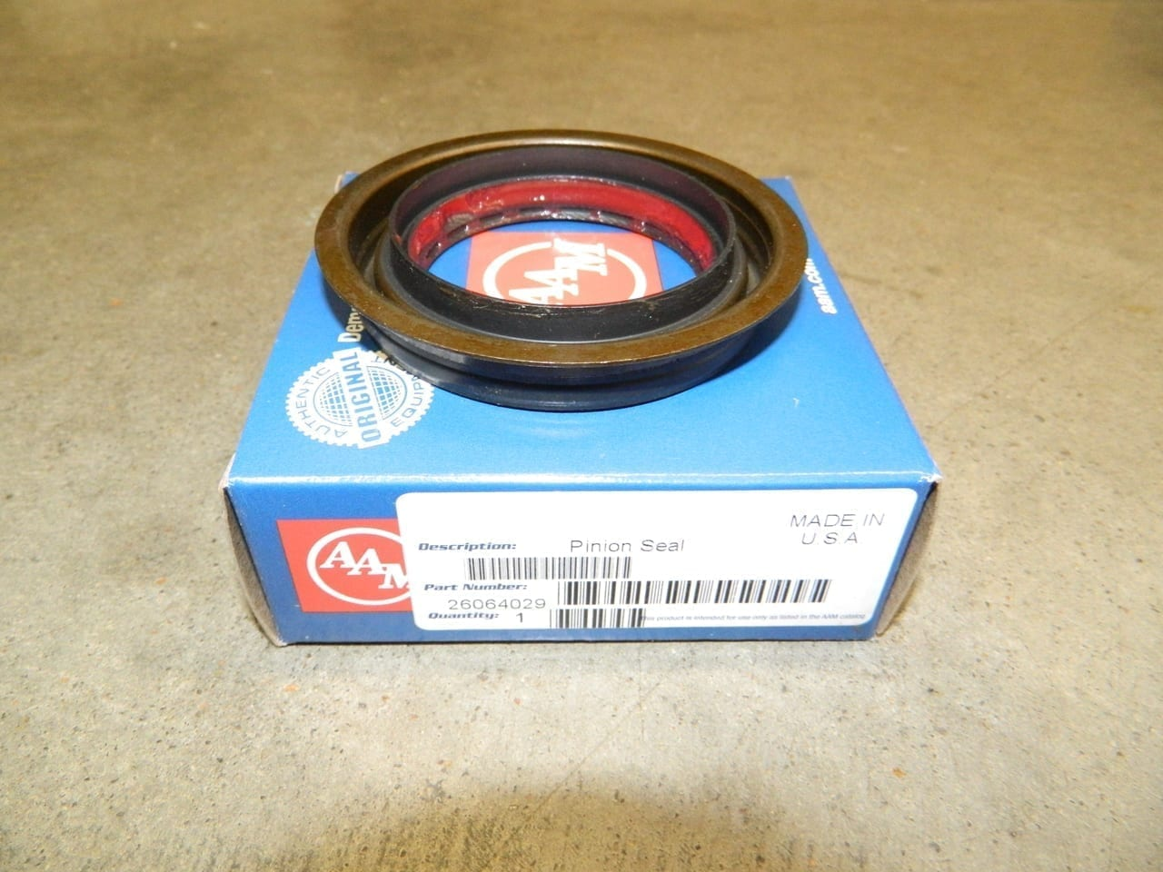 GM 9.5 Rear Pinion Yoke Seal 1998+ AAM 3/4 ton Truck Dodge 4X4 Front 2500 3500 9.25 Front 2003+
