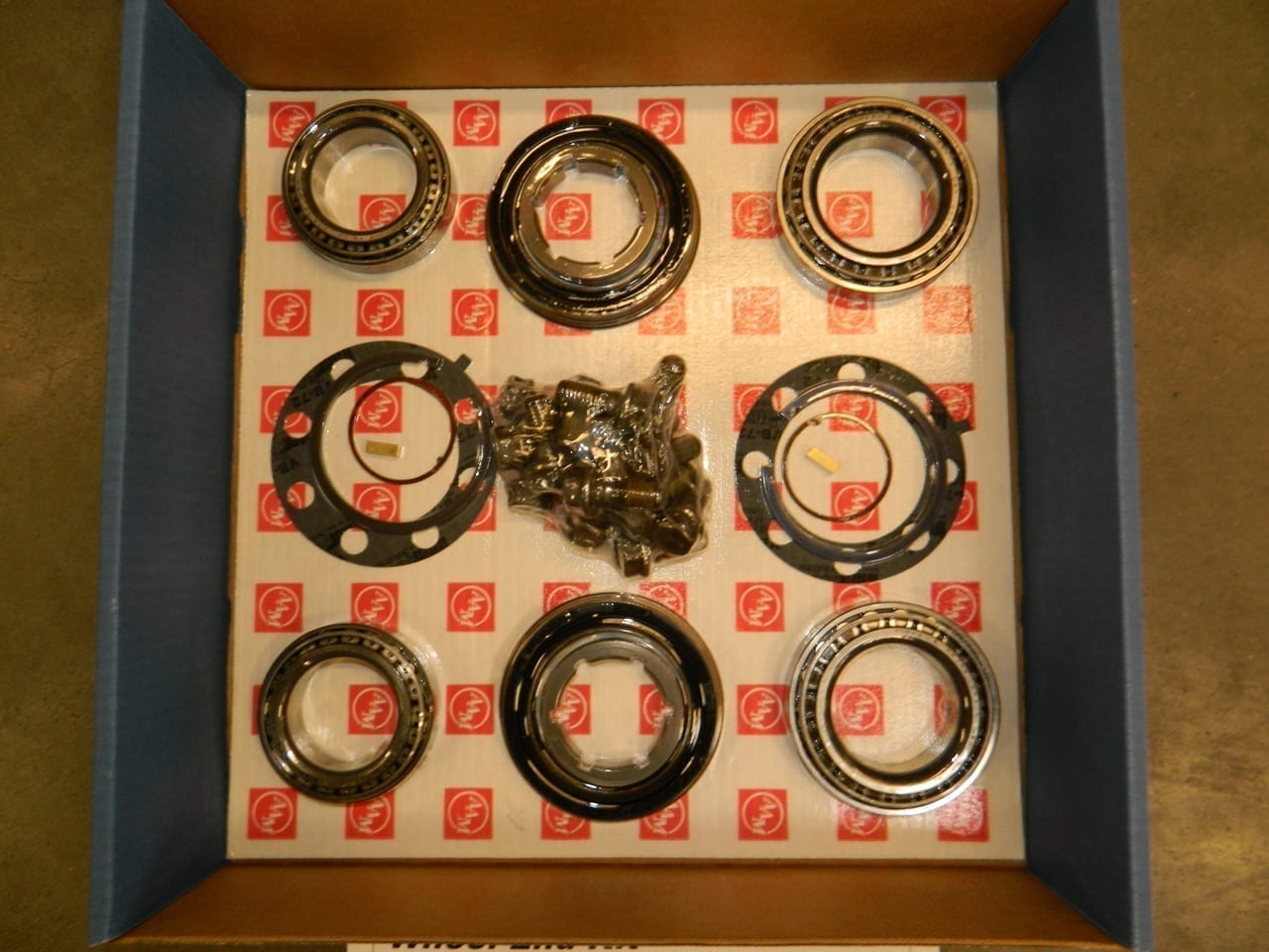 2001-2010 GM Chevy Hub Bearing & Seal Kit AAM Axle Dual Rear Wheel End Dually Kit