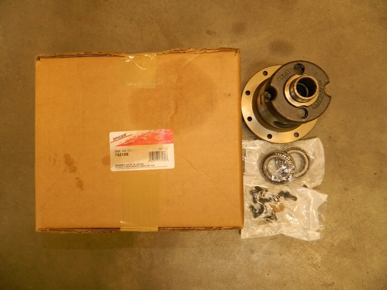 Dana 35 Jeep Rear Axle Posi Trac Lok Differential Limited Slip 27 Spline 3:31 and UP